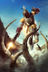 boba fett escape from sarlac pit